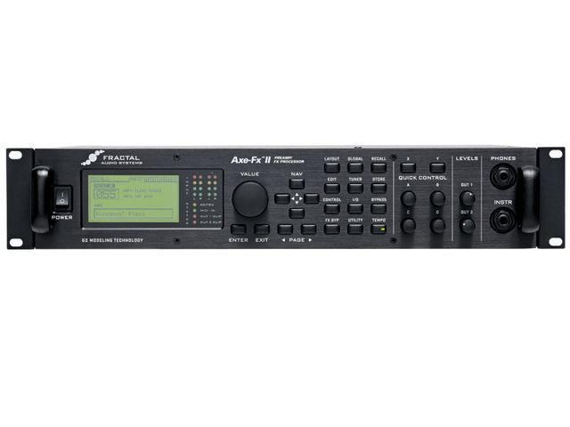 The updated Axe-Fx thankfully includes the USB port that was missing from the original.