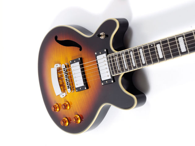 The Hagstrom Deuce is a bruiser of a guitar...