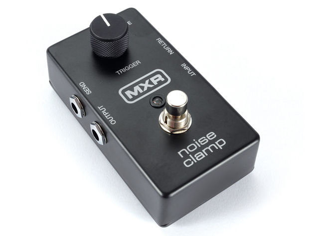 The MXR Noise Clamp gets rid of unwanted pedal noise in no-nonsense fashion.