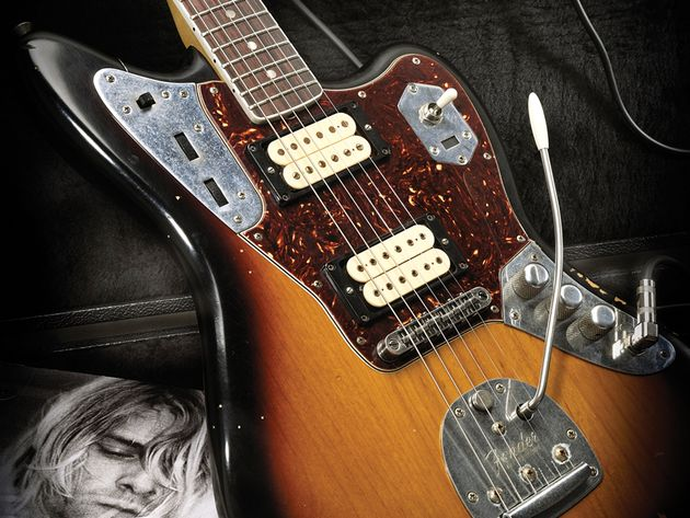 Fender's Kurt Cobain Jaguar replica