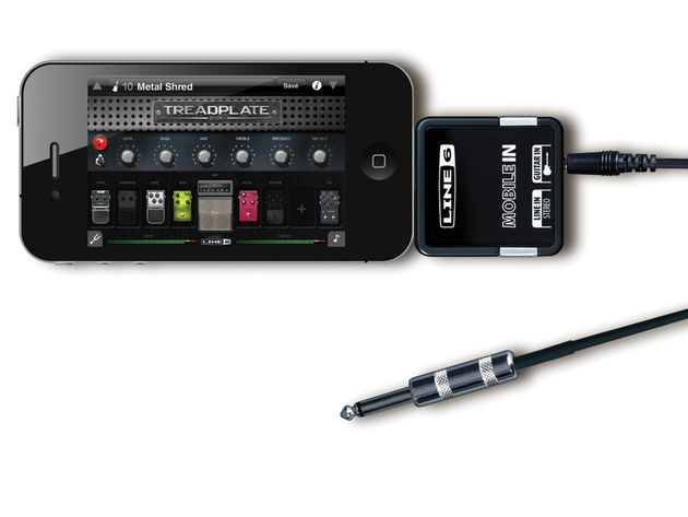 Line 6 has included hundreds of presets within the Mobile Pod app, and access to a further 10,000 through its website.