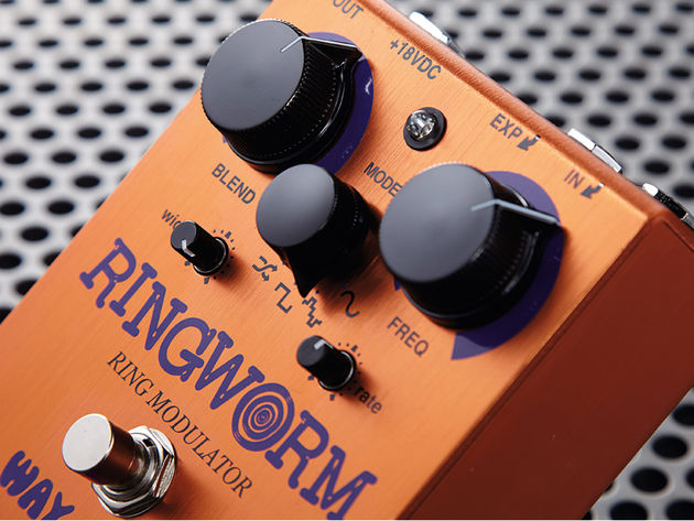 The Ringworm's controls give you an impressive range of options.