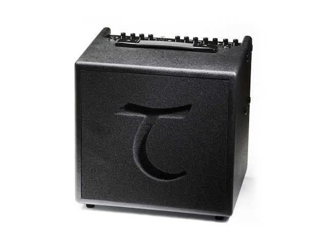 The T6's great-sounding eight-inch speaker is protected from damage by a slab of sculpted foam backed up by a steel grille.