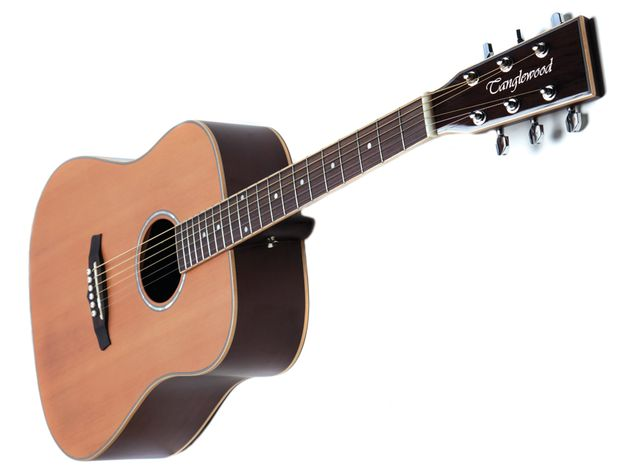 …but it's the tonal subtleties of that cedar top that really make this guitar shine.