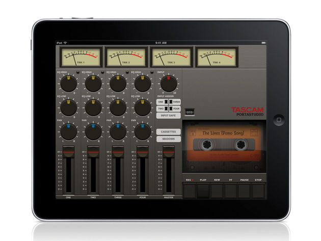 Tascam Portastudio for iPad (£1.99)