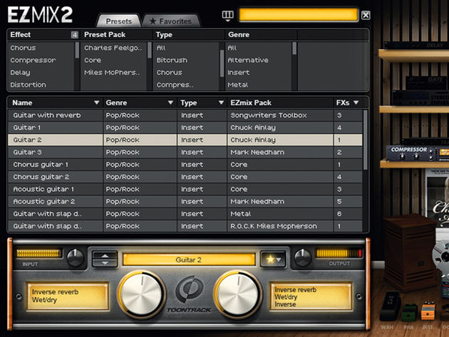 Toontrack's EZmix 2 certainly lives up to its name…