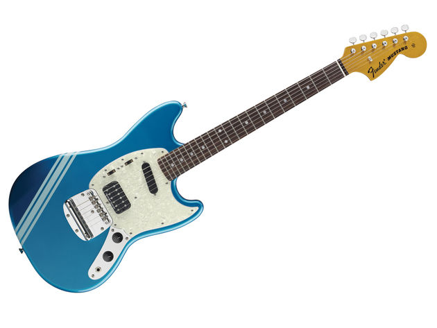 The KC Mustang shares its 24-inch scale length with the Fender Jaguar.