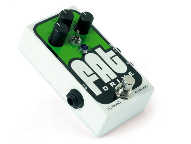 Bulging with capability, Pigtronix's FAT Drive more than lives up to its name.