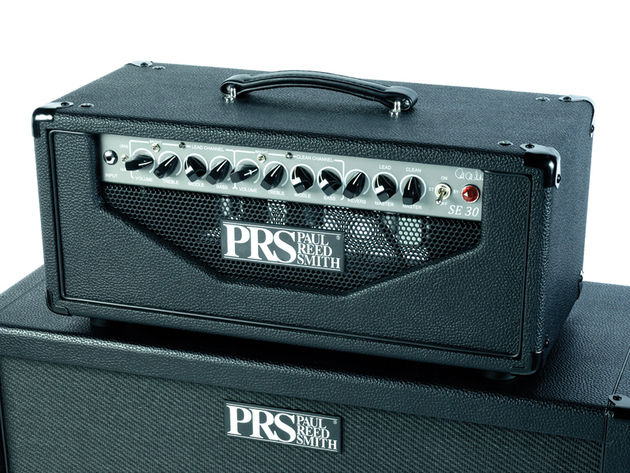 The PRS SE 30's clean and lead channels are well matched, with the tones blending together seamlessly.