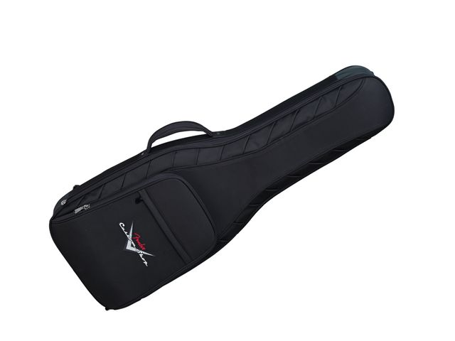 The Fender Custom Shop Reunion Blues Gig Bag boasts one-inch padding and offers superb protection.