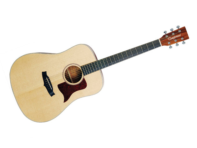 The Tanglewood Sundance Natural TW15 OP's 2mm inlays are clear but remain minimalistic, giving the visual appeal of a much pricier instrument. The maple binding and fretwork execution is super-clean.