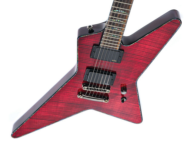 If you worry about losing your guitar among the crowd, the Charvel Desolation DST-1 ST can help…