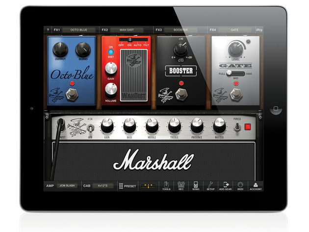 IK Multimedia Amplitube Slash for iPad (£6.99)