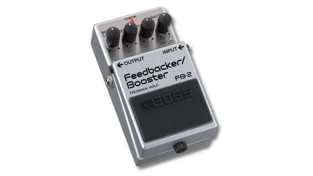 The FB-2 is a pedal of two halves - both a boost and a 'Feedbacker'