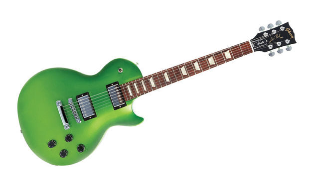 The Nitrous LP Studio series is all about bright finishes and aggressive humbuckers