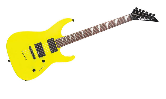 We tip our hats to Jackson for having the balls to finish this guitar in such an awful/awesome colour