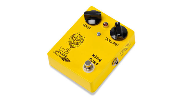 The King Fuzz aims to replicate The Black Keys man Dan Auerbach's epic fuzz tones