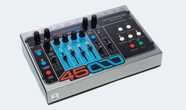 The 45000 can enable you to quickly produce complex four-track loops