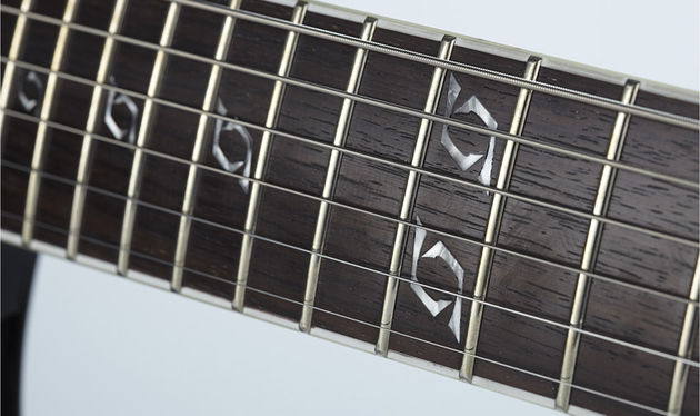 Fans will love having the band's logo on the fretboard, but no-one's likely to find the Lowery over-branded