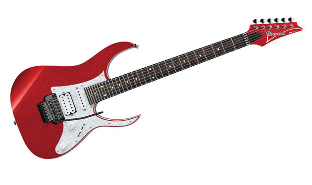 The RG550XH takes shred guitar design to another level: it has 30 frets, for a start!