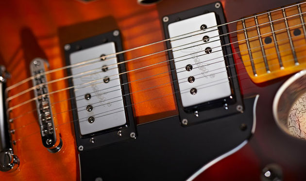 Fender's modern Wide Range humbuckers get you in the right ballpark and work particularly well for effects-drenched indie styles