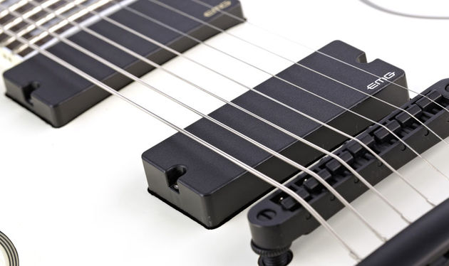 Active pickups are all but mandatory if you enjoy low-register riffs lathered in thick gain