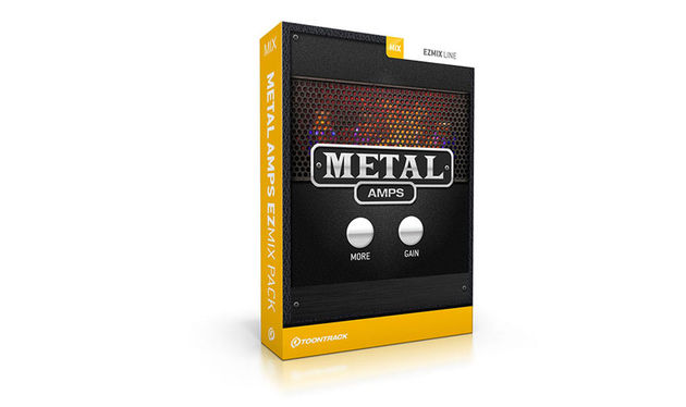 The pack comprises 50 presets, based on impulse responses and modelling of classic high-gain amps