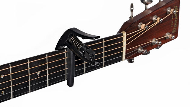 The NS Art Capo has some nifty features, like a tuner bracket and a pick holder