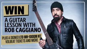 WIN! A guitar lesson with Rob Caggiano