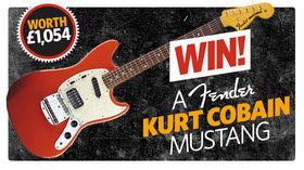 WIN! A Fender Kurt Cobain Mustang