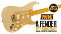 WIN! A Fender 60th Anniversary Classic Player '50s Stratocaster