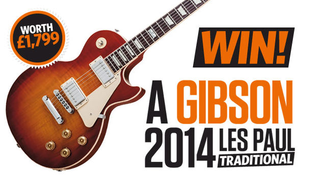 WIN! A Gibson 2014 Les Paul Traditional