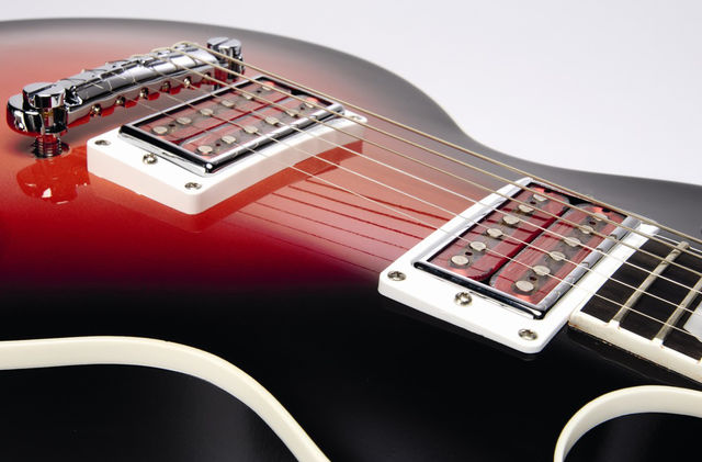 The Goddess has humbuckers with translucent tops!