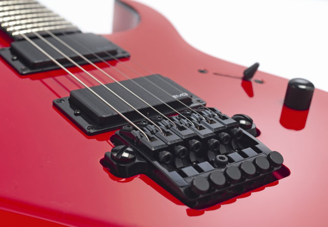 The MTM1 actually comes loaded with the Ibanez Fixed Edge bridge.
