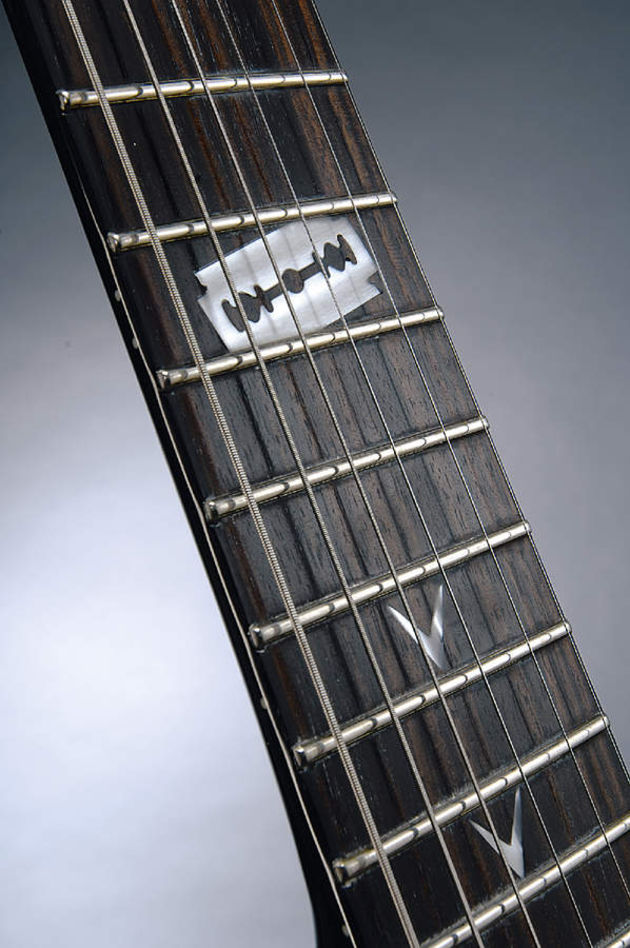 The 255 offers 25.5 inches and 24 frets of widdling action