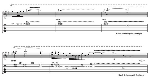 Part two: Remember to use this transcription as a guide to what Walter plays on the video. Don't copy it slavishly – interpretation is a key part of blues guitar playing.