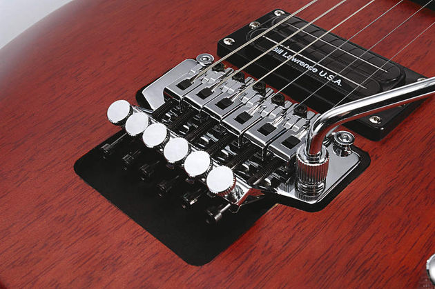 A 600S Floyd Rose is a big surprise at this level.