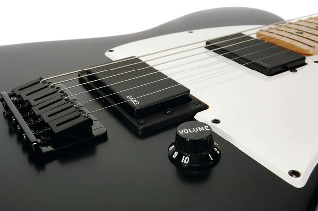 It has EMG pickups.