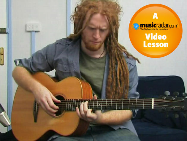 Newton Faulkner uses altered tunings to get his unique voicings