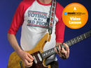 Paul Gilbert: 3 note-per-string major scale patterns