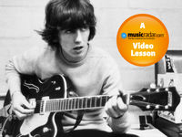 How to play guitar like George Harrison
