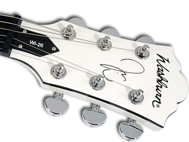 Asides from a few subtle touches, you'd never know you were playing a signature model