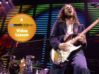 How to play guitar like John Frusciante
