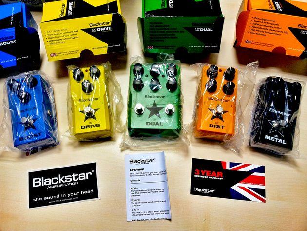 Blackstar LT Pedals