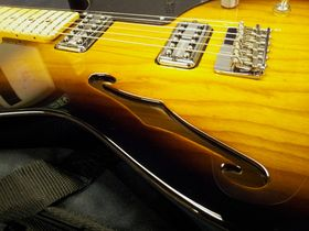 In pictures: Fender Cabronita Telecaster Thinline unboxed
