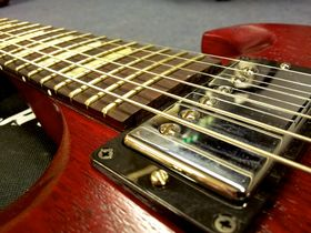 In pictures: Gibson SG '60s Tribute with Min-ETune unboxed