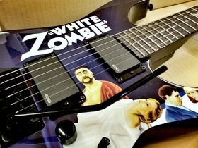In pictures: LTD Kirk Hammett KH-WZ White Zombie & James Hetfield Iron Cross SW unboxed