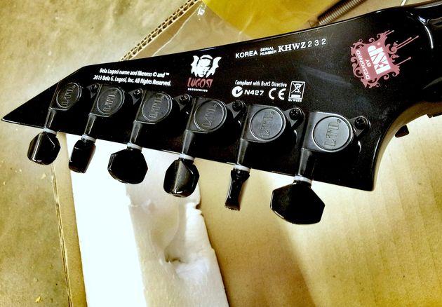 LTD Kirk Hammett KH-WZ White Zombie