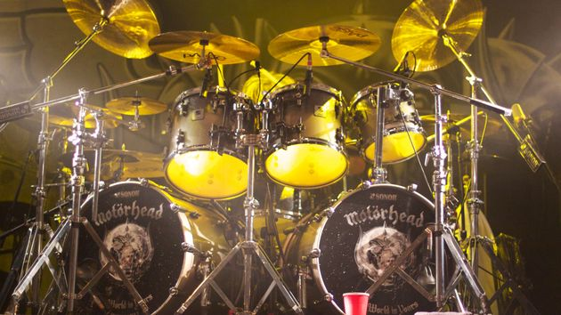 Mikkey Dee: he is somewhere there