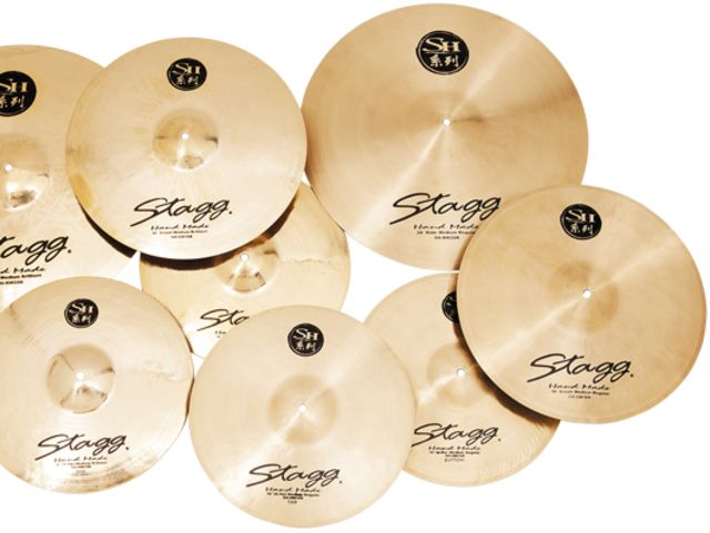 Best budget cymbals: Stagg Double Hammered
